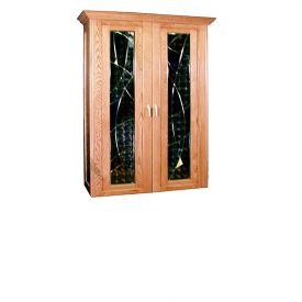 Enlarge Vinotemp Le Soleil 700 Wine Cellar - Two Modern Glass Doors - 440 Bottle Count