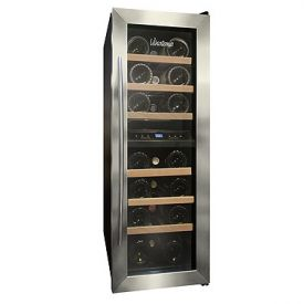 Enlarge Vinotemp VT-21TEDS-2Z 21-Bottle Dual Zone Thermoelectric Wine Refrigerator