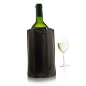 Enlarge Vacu Vin Rapid Ice Wine Cooler -  Black