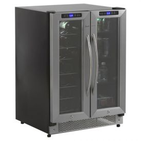 Enlarge Avanti WBV21DZ Built-In 21-Bottle, 54-Can Dual Zone Beverage Center