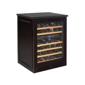 Enlarge Avanti WCR534WDZD-E 46 Bottle Wood Cabinet Dual Zone Wine Cooler - Espresso