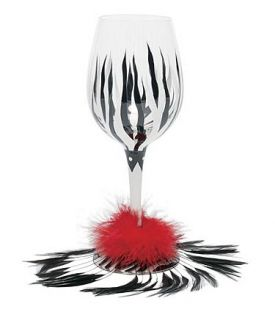Enlarge Wild Child Wine Glass by Lolita Love My Wine Collection