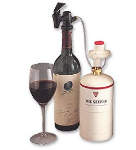 Enlarge WineKeeper The Keeper - Single Bottle Dispenser Wine Preservation System