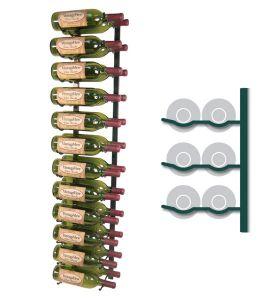 Enlarge Vintage View WS42-K - 24 Bottle VintageView Wine Rack - Satin Black Finish