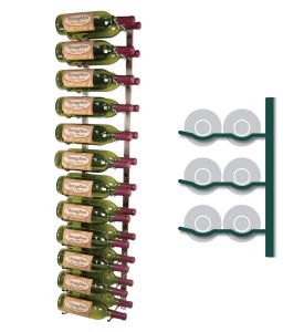Enlarge Vintage View WS42-P - 24 Bottle Vintage View Wine Rack - Platinum Series Finish