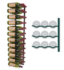 Enlarge Vintage View WS43-K - 36 Bottle VintageView Wine Rack - Satin Black Finish
