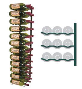 Enlarge Vintage View WS43-K - 36 Bottle VintageView Wine Rack - Satin Black Finish
