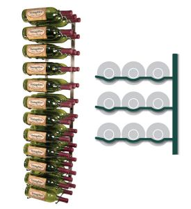 Enlarge Vintage View WS43-P - 36 Bottle VintageView Wine Rack - Platinum Finish