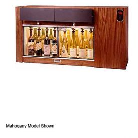 Enlarge WineKeeper 8-SSR- Magnum 8 Bottle Wine Dispenser Preservation Unit - Stainless Steel #4 Finish