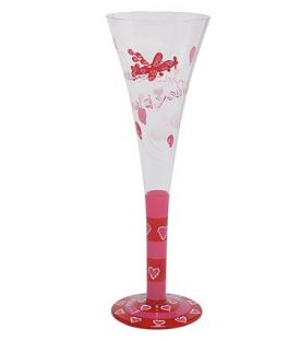 Enlarge Would You? Champagne Flute Glass by Lolita Champagne Moments Collection