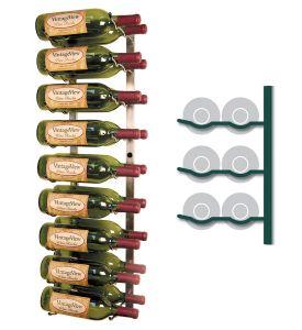 Enlarge Vintage View WS32-P - 18 Bottle VintageView Wine Rack - Platinum Series Finish