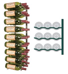 Enlarge Vintage View WS33-P - 27 Bottle VintageView Wine Rack - Platinum Series Finish