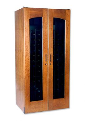 Enlarge Le Cache 2400 Series 286 Bottle Wine Cellar - Provincial Cherry Finish