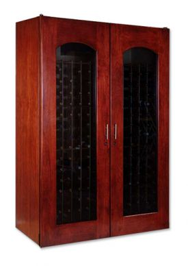 Enlarge Le Cache 3800 Series 458 Bottle Wine Cellar - Classic Cherry Finish