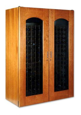 Enlarge Le Cache 3800 Series 458 Bottle Wine Cellar - Provincial Cherry Finish