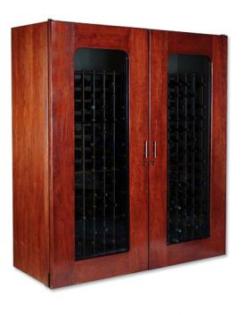 Enlarge Le Cache 5200 Series 622 Bottle Wine Cellar - Classic Cherry Finish