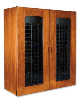 Enlarge Le Cache 5200 Series 622 Bottle Wine Cellar - Provincial Cherry Finish