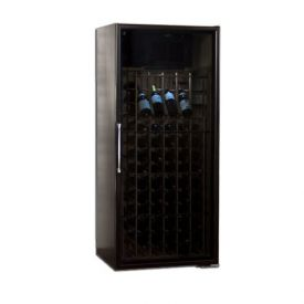 Enlarge Le Cache Loft 1400 172-Bottle Wine Cabinet - Black Matte