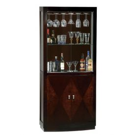 Enlarge Howard Miller 690-014 Montgomery Hide-A-Bar Wine & Spirits Cabinet