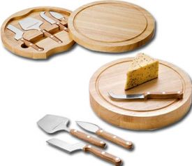 Enlarge Picnic Time Circo Cheese Board with Tools