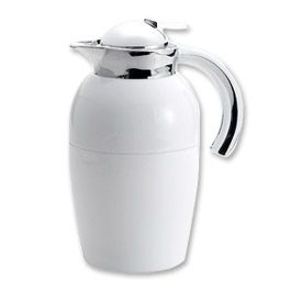 Enlarge Oggi 6515.1 Senator 1 L. White Thermal Coffee Carafe