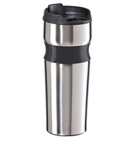 Enlarge Oggi 5080 Lustre Contour Stainless Steel Travel Mug