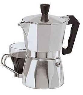 Enlarge Oggi 6570 3 cup Stovetop Espresso Maker