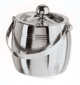Enlarge Oggi 7222 Linea Stainless Steel Double Wall Ice Bucket