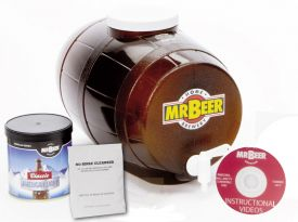 Enlarge Mr. Beer Deluxe Home Microbrewery Kit