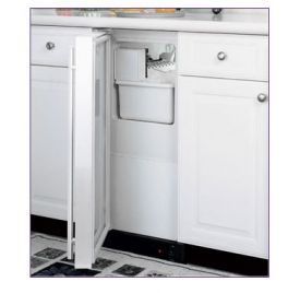 Enlarge Marvel 25IM-WW-O-R - White Cabinet / Custom Overlay Door