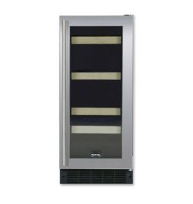 Enlarge Marvel 3SBARE-BS-G Digital Beverage & Wine Refrigerator - Stainless Steel Framed Door