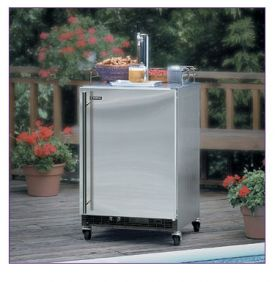 Enlarge Marvel 60HK-SSX-F All Stainless Steel Outdoor Kegerator - SSX Kit Deluxe Model