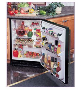 Enlarge Marvel 61ARM-BS-F-R Built-in All Refrigerator - Black Cabinet / Stainless Steel Door