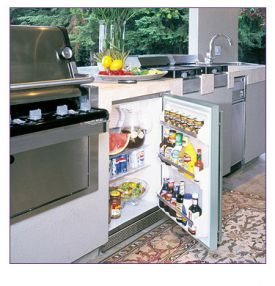 Enlarge Marvel 60ARM-SS-B-LR Outdoor All Refrigerator - Stainless Steel