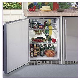 Enlarge Marvel 6ORGD-SS-F Outdoor Refrigerator - Stainless Steel
