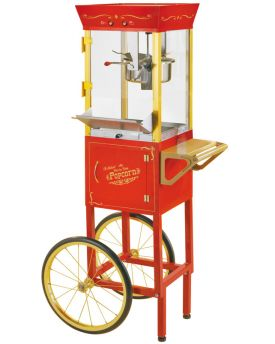 Enlarge Nostalgia Electrics CCP-510 Old Fashioned Circus Cart Popcorn Maker