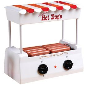 Enlarge Nostalgia Electrics HDR-565 Old Fashioned Hot Dog Roller & Griddle