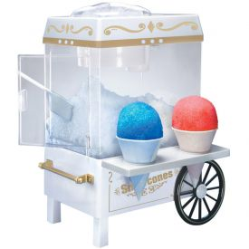 Enlarge Nostalgia Electrics SCM-502 Old Fashioned Carnival Style Snow Cone Maker