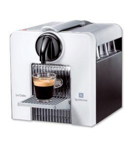 Enlarge Nespresso C180W Le Cube Espresso Machine - Arctic White