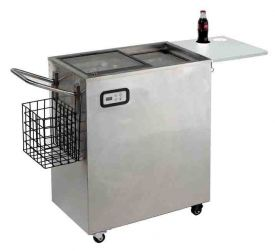 Enlarge Avanti ORC2519SS 2.5 CF Portable Outdoor Beverage Cooler