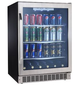 Enlarge Danby Silhouette DBC162BLSST 38 in. Beverage Center