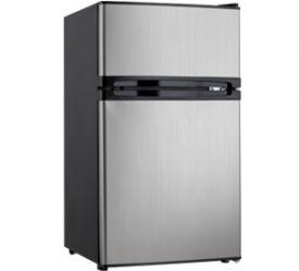 Enlarge Danby DCRM31BSLDD 3.0 Cu. Ft. Dual Door Compact Fridge with Freezer