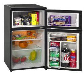 Enlarge Avanti RA304BT-1 - 3.1 CF Two Door Counterhigh Refrigerator - Black