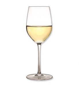 glass of chardonay