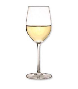 glass of chardonay