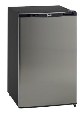 Enlarge Avanti RM4123SS - 4.1 Cu. Ft. Refrigerator with Chiller Compartment - Stainless Door