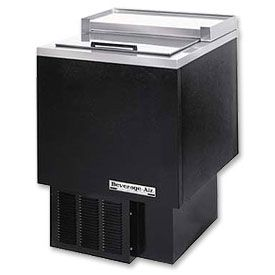 Enlarge Beverage-Air SF34-B Shallow Well Bottle Cooler - Black Vinyl