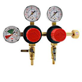 Enlarge T752HP - 2-Product Dual Pressure Kegerator Co2 Regulator