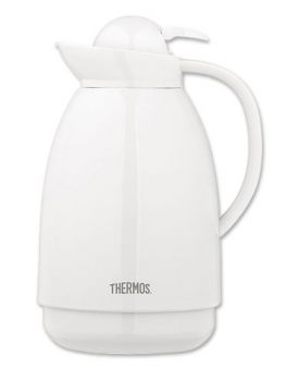 Enlarge Thermos 710 White Vacuum Carafe - 1.0 Liter