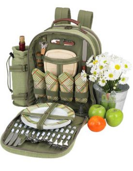 Enlarge Picnic at Ascot Hamptons Picnic Backpack for Four